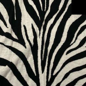 MICHAEL Michael Kors Tops - MMK 🦓🦓 Size XS Zebra Print Empire Waist Top
